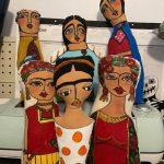 los pekes de abuela 5 Muñecas pintadasFrida Kahlocolecciones de Reyes Magos