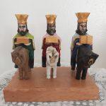 artesania Juan Collazo aibonito 1 reyes magos tallados