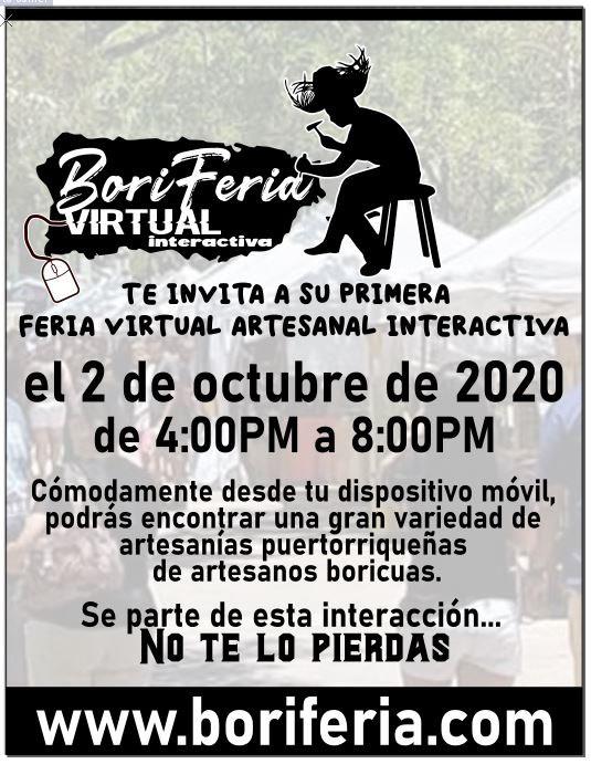 feria artesanal online puerto rico boriferia