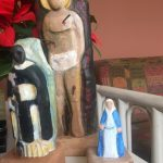 Artesanías Vicky 2 talla de santos
