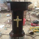 Madera del Ayer 3 ebanista artesanal restauracion podio altar iglesia