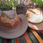Alberto Delgado Articulos en Cuero sombreros