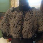 Artesanías Celida 3 trajes de niña a crochet jibaras