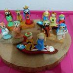 Artesanias Alas de un Angel 2 reyes magos en porcelanicron