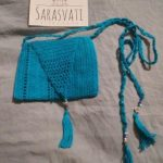 Sarasvati Arte+Sana tejido pantallas carteras Crochet top