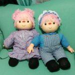 Rosarts & Crochets 3 munecos muñecas