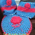 Rosarts & Crochets 3 Set de baños