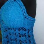 Ligia's crochet cabo rojo blusas ropa de mujer tejida