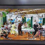 CdiazArtista Pintura, Pirograbado,Talla Alto relieve,Torno y Grabado funeral