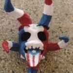 Máscaras de Carnaval en papel 1