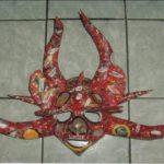 Máscaras de Carnaval en papel 2