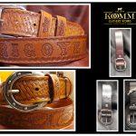 Komm Leather Works Cuero Artesanal correa