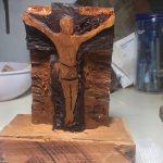 Artesanías Vicky 3 talla de santos