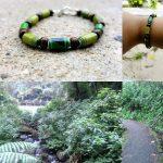 PicaFlor joyeria hechas a mano eco amigable reciclado papel beads
