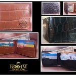 Komm Leather Works Cuero Artesanal wallet carteras