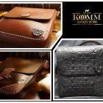 Komm Leather Works Cuero Artesanal cartera wallet
